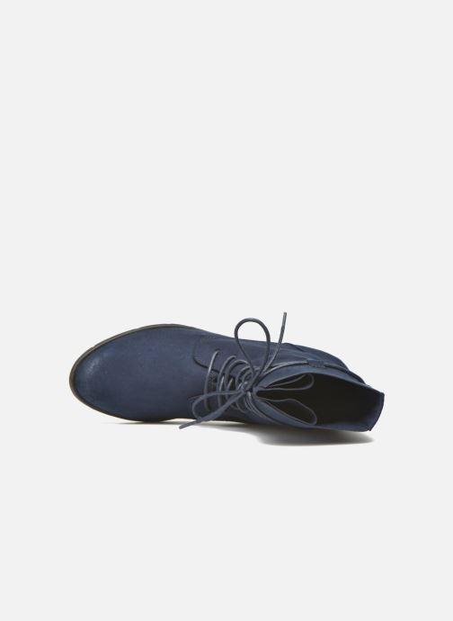 Bottines et boots Marco Tozzi Flora 2 Bleu vue gauche
