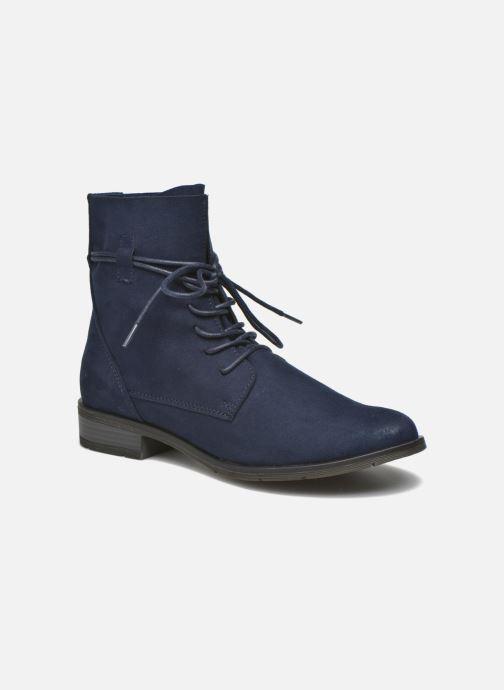 Bottines et boots Marco Tozzi Flora 2 Bleu vue détail/paire