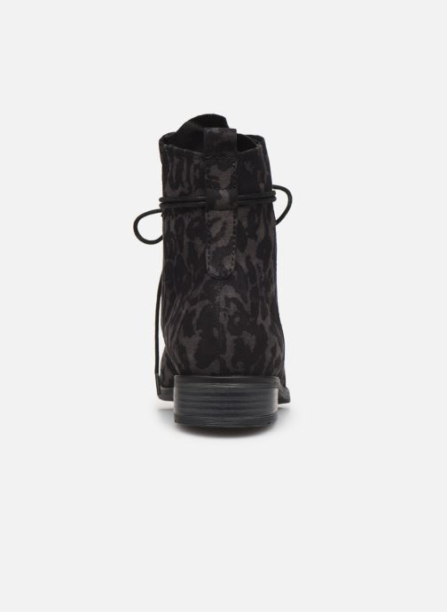 Ankle boots Marco Tozzi Flora 2 Black view from the right