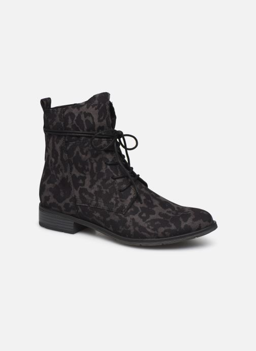 Ankle boots Marco Tozzi Flora 2 Black detailed view/ Pair view