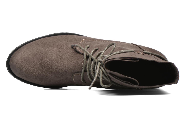 Bottines et boots Marco Tozzi Flora 2 Gris vue gauche