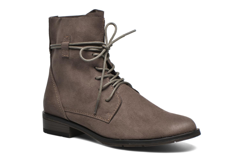 Bottines et boots Marco Tozzi Flora 2 Gris vue détail/paire