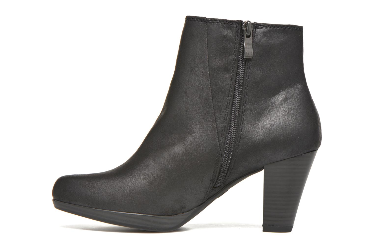 Ankle boots Marco Tozzi Gili Black front view