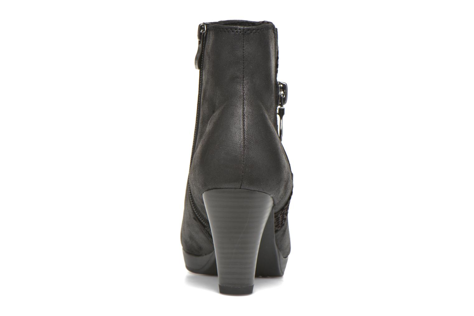 Ankle boots Marco Tozzi Gili Black view from the right