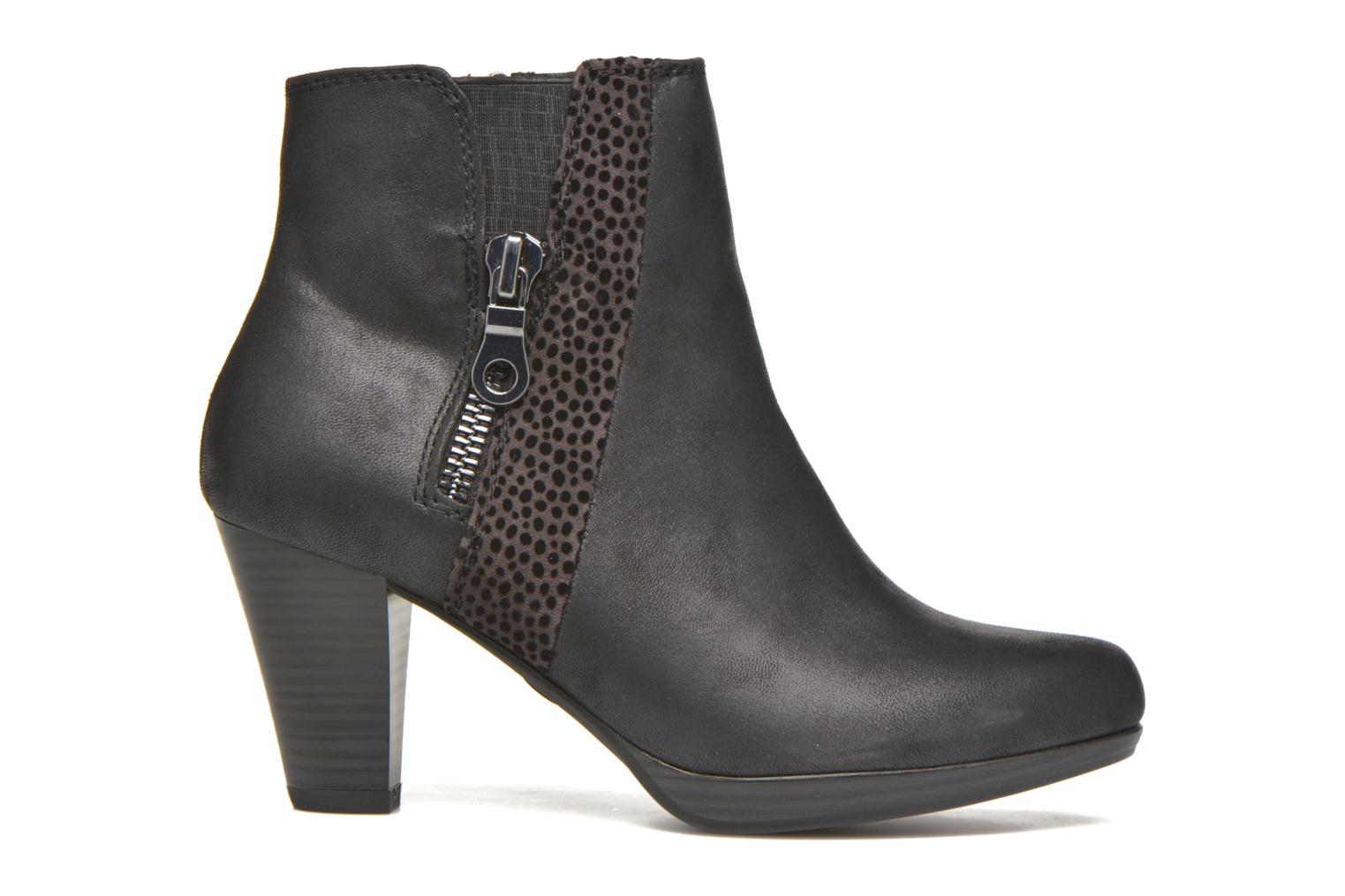 Ankle boots Marco Tozzi Gili Black back view