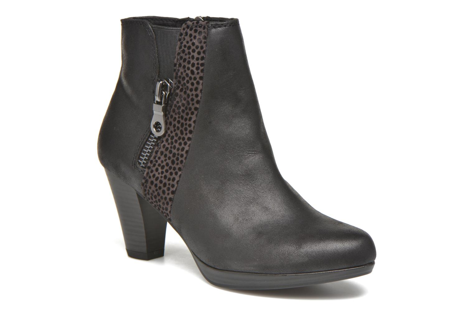 Ankle boots Marco Tozzi Gili Black detailed view/ Pair view