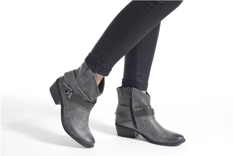 Bottines et boots Marco Tozzi Rina Bleu vue bas / vue portée sac
