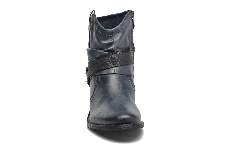 Bottines et boots Marco Tozzi Rina Bleu vue portées chaussures