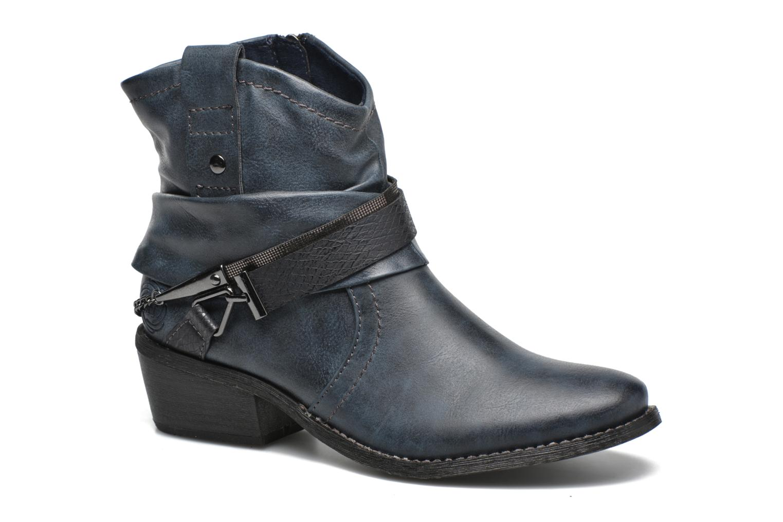 Bottines et boots Marco Tozzi Rina Bleu vue détail/paire