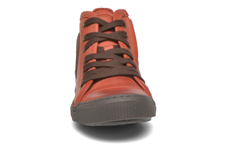 Baskets Bisgaard Else Rouge vue portées chaussures