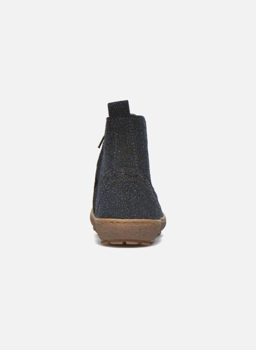 Ankle boots Bisgaard Meri Blue view from the right