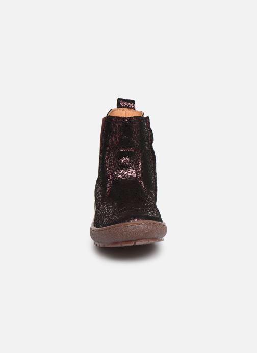 Stiefeletten & Boots Bisgaard Meri lila schuhe getragen