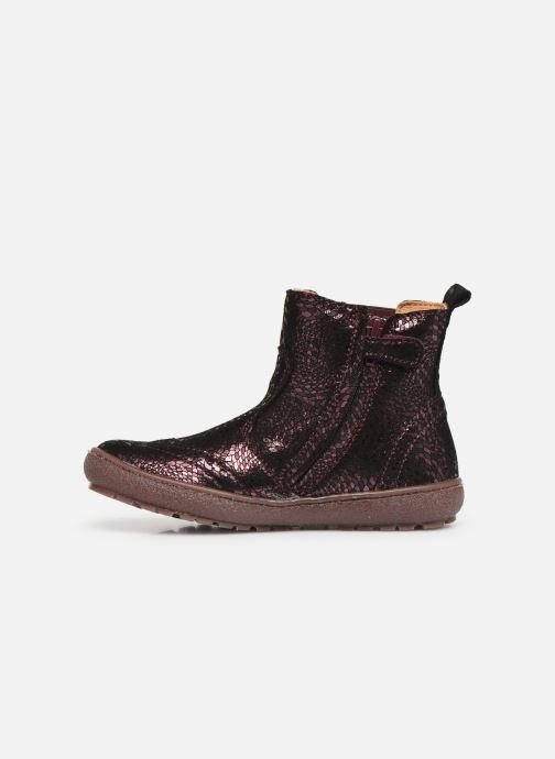 Stiefeletten & Boots Bisgaard Meri lila ansicht von vorne