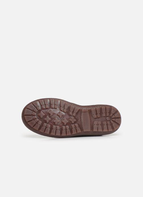 Bottines et boots Bisgaard Meri Violet vue haut
