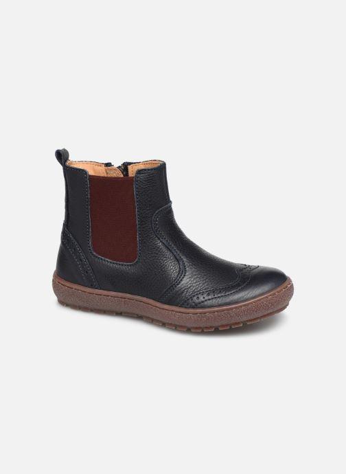 Ankle boots Bisgaard Meri Blue detailed view/ Pair view