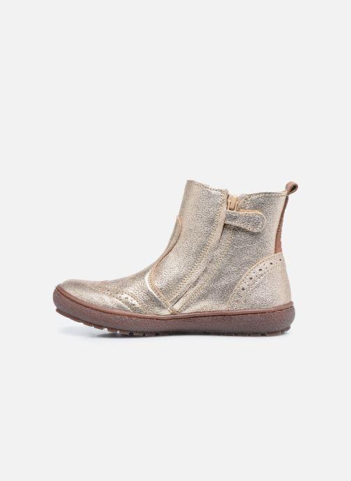 Bottines et boots Bisgaard Meri Or et bronze vue face