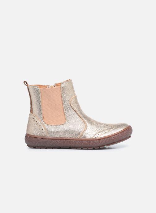 Bottines et boots Bisgaard Meri Or et bronze vue derrière