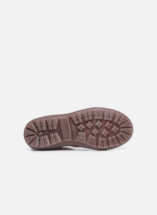 Bottines et boots Bisgaard Meri Or et bronze vue haut