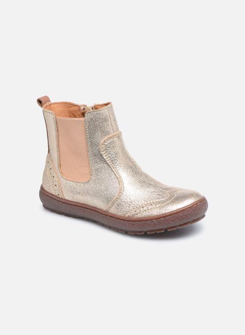 Bottines et boots Bisgaard Meri Or et bronze vue détail/paire