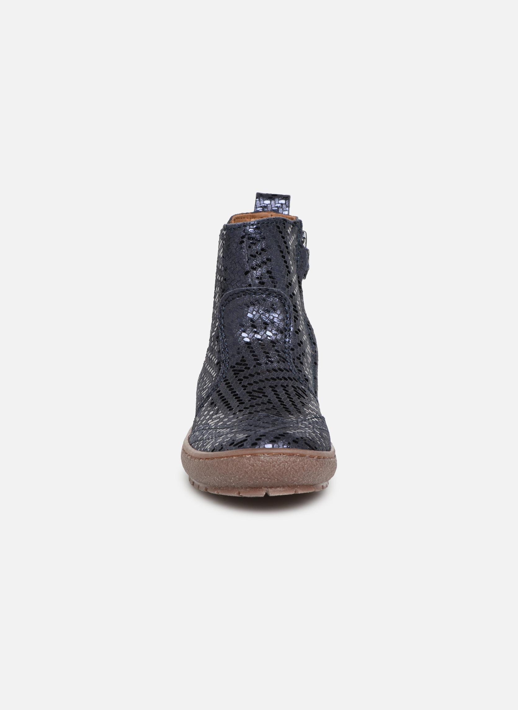 Bottines et boots Bisgaard Emma Bleu vue portées chaussures