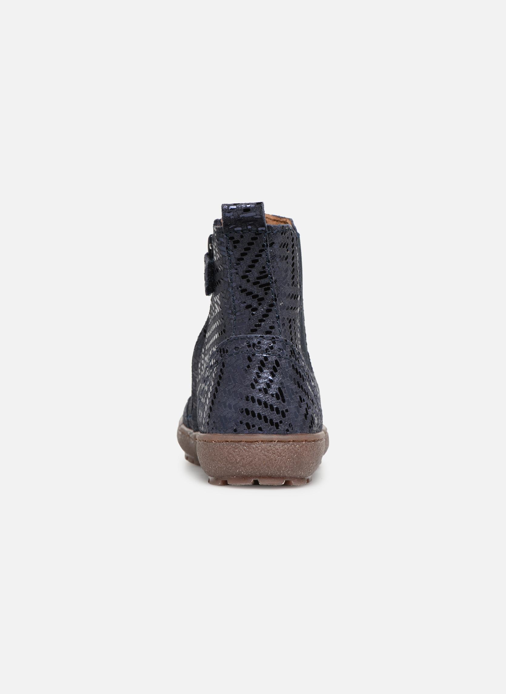 Bottines et boots Bisgaard Emma Bleu vue droite