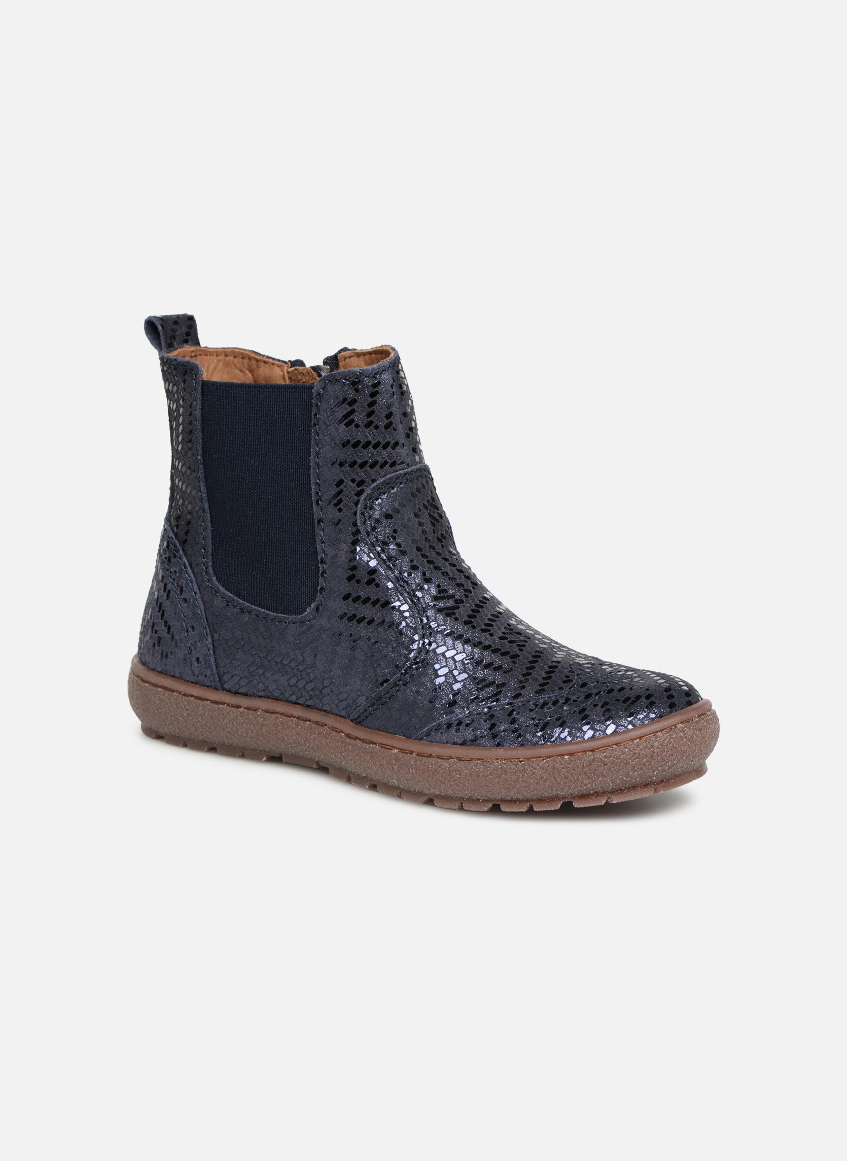 Bottines et boots Bisgaard Emma Bleu vue détail/paire
