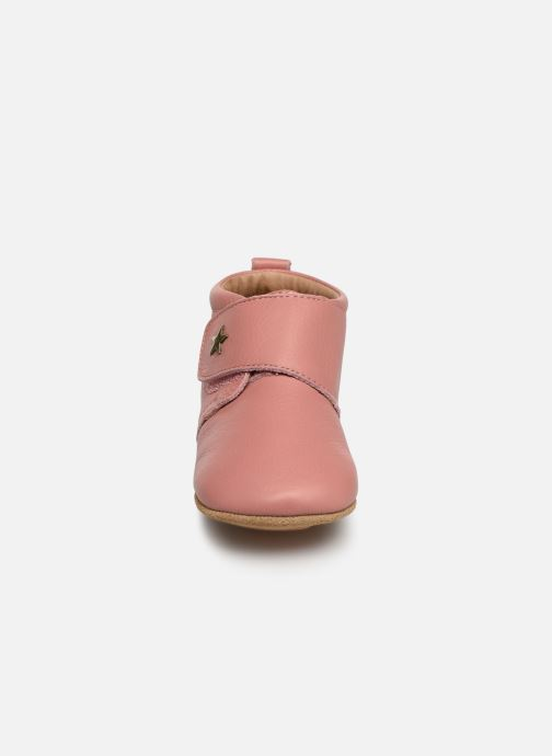 Chaussons Bisgaard Lone Rose vue portées chaussures