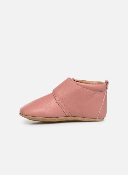 Chaussons Bisgaard Lone Rose vue face