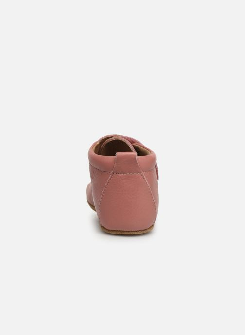 Chaussons Bisgaard Lone Rose vue droite