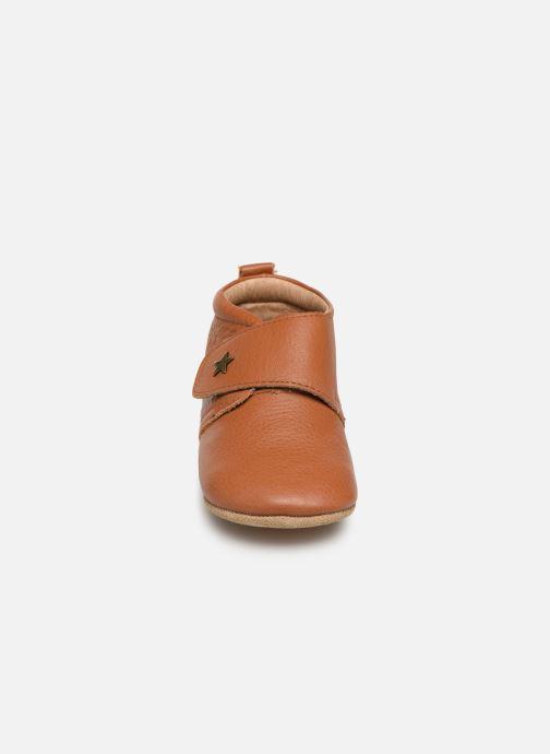 Chaussons Bisgaard Lone Marron vue portées chaussures