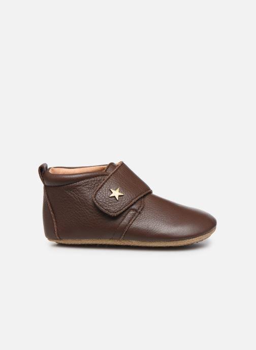 Pantofole Bisgaard Lone Marrone immagine posteriore
