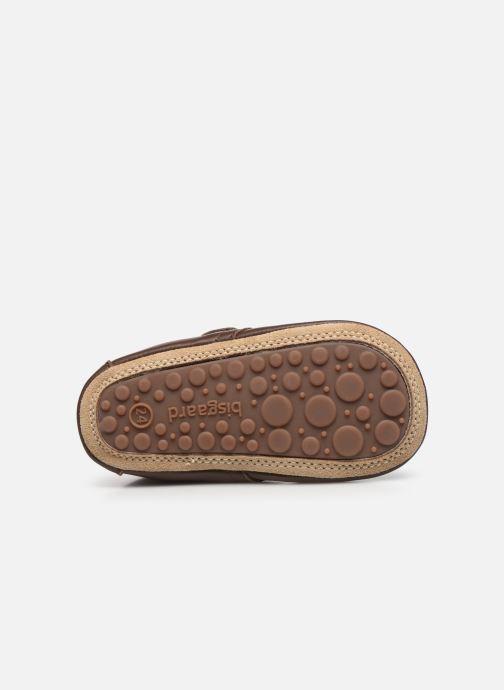 Pantofole Bisgaard Lone Marrone immagine dall'alto