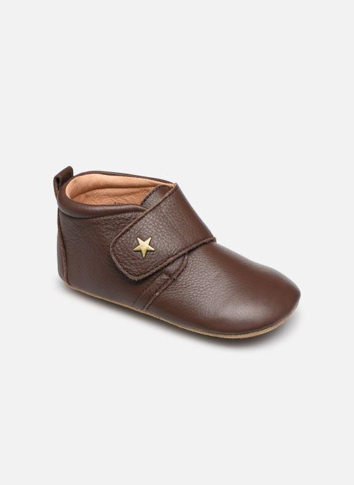 Pantofole Bisgaard Lone Marrone vedi dettaglio/paio