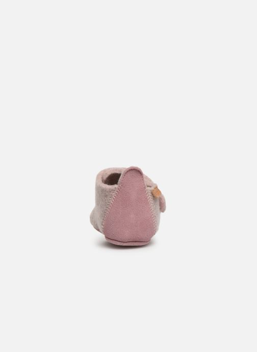 Ankle boots Bisgaard Poul Pink view from the right