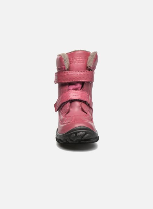 Bottes Bisgaard Olaf Rose vue portées chaussures