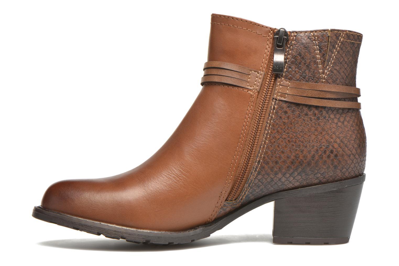 Boots en enkellaarsjes Marco Tozzi Bonite Bruin voorkant