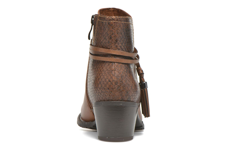 Boots en enkellaarsjes Marco Tozzi Bonite Bruin rechts