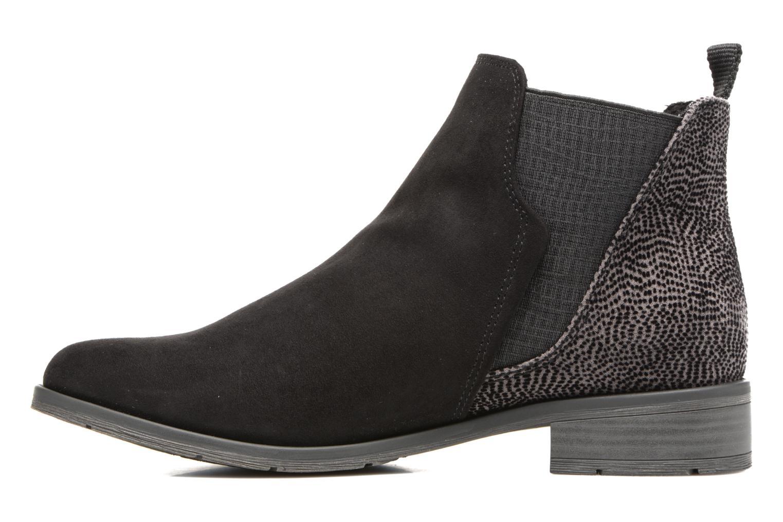 Bottines et boots Marco Tozzi Hotu Noir vue face