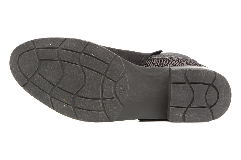 Bottines et boots Marco Tozzi Hotu Noir vue haut