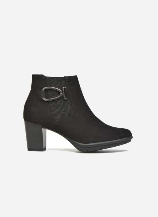 Ankle boots Marco Tozzi Poppy 2 Black back view