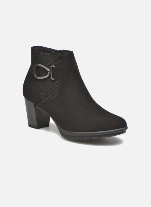 Ankle boots Marco Tozzi Poppy 2 Black detailed view/ Pair view