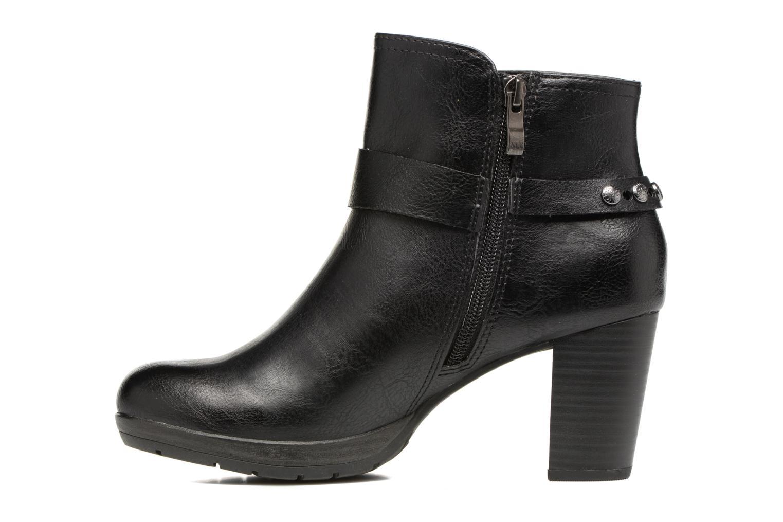 Bottines et boots Marco Tozzi Loubine Noir vue face
