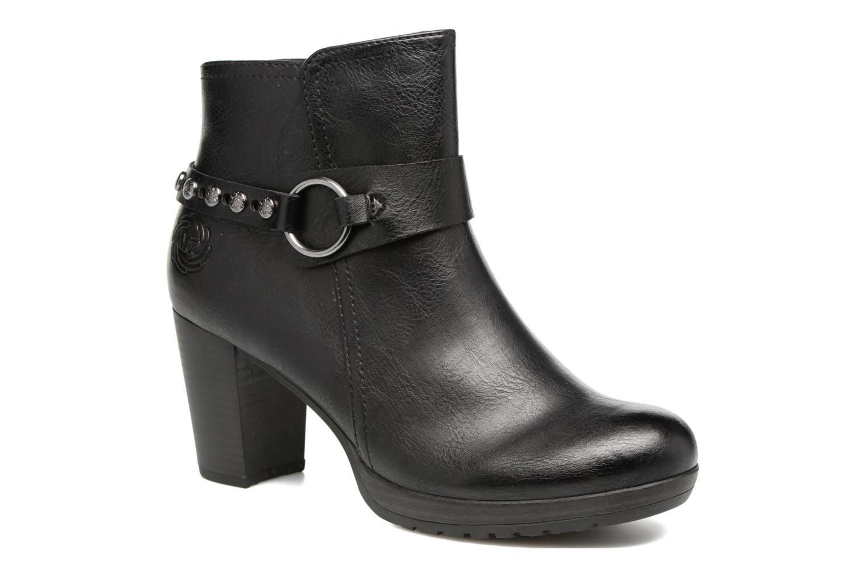 Bottines et boots Marco Tozzi Loubine Noir vue détail/paire