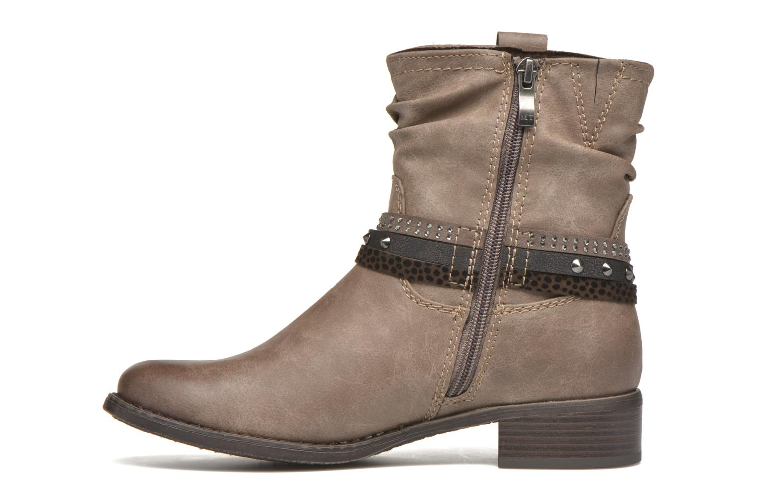 Bottines et boots Marco Tozzi Meunier Marron vue face