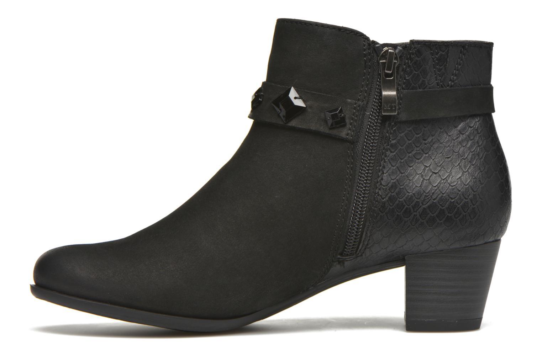 Bottines et boots Marco Tozzi Muge Noir vue face
