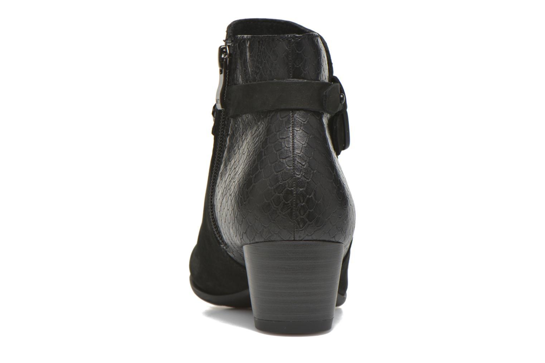 Bottines et boots Marco Tozzi Muge Noir vue droite