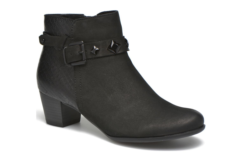 Bottines et boots Marco Tozzi Muge Noir vue détail/paire