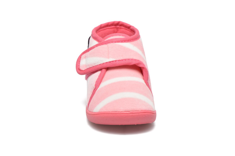 Chaussons Petit bateau PB Medievalo Rose vue portées chaussures
