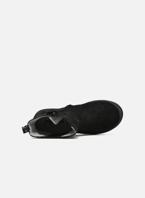 Ankelstøvler Minibel Ludique Sort se fra venstre