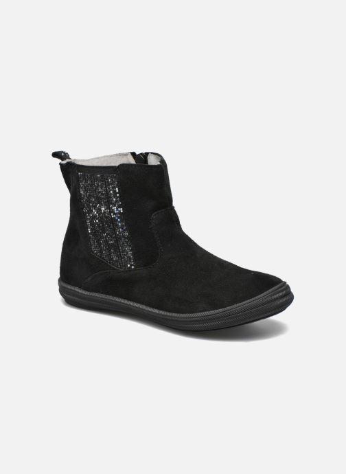 Ankelstøvler Minibel Ludique Sort detaljeret billede af skoene